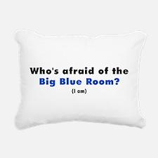 Big Blue Room.jpg Rectangular Canvas Pillow