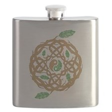 Celtic Nature Yin Yang Flask