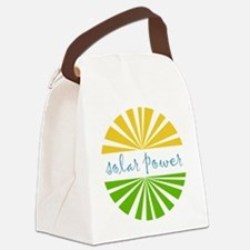 Solar Power Canvas Lunch Bag