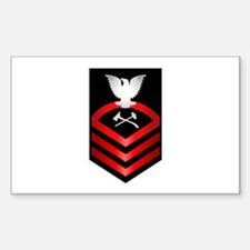 Navy Chief Damage Control Decal
