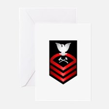 Navy Chief Damage Control Greeting Cards (Pk of 20
