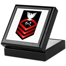 Navy Chief Damage Control Keepsake Box