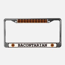 Bacontarian License Plate Frame