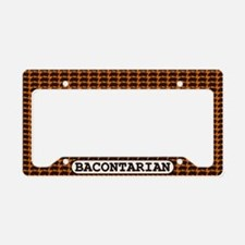 Bacontarian License Plate Holder