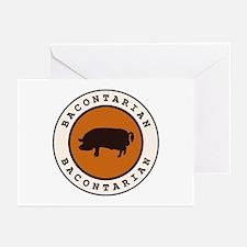 Bacontarian Greeting Cards (Pk of 10)