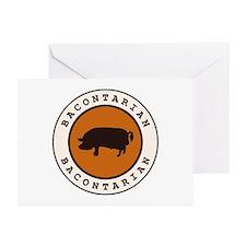 Bacontarian Greeting Cards (Pk of 20)