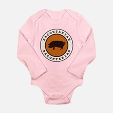 Bacontarian Long Sleeve Infant Bodysuit