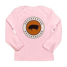 Bacontarian Long Sleeve Infant T-Shirt