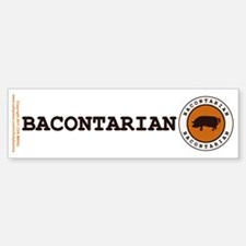 Bacontarian Bumper Bumper Sticker