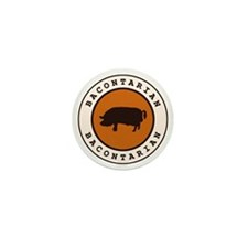 Bacontarian Mini Button (100 pack)