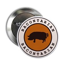 """Bacontarian 2.25"""" Button (10 pack)"""