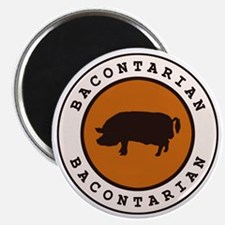 """Bacontarian 2.25"""" Magnet (10 pack)"""