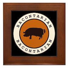 Bacontarian Framed Tile