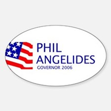 Angelides 06 Oval Decal