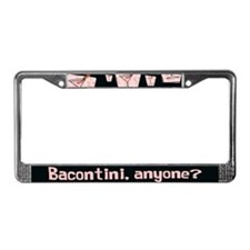 Bacontini Anyone ? License Plate Frame