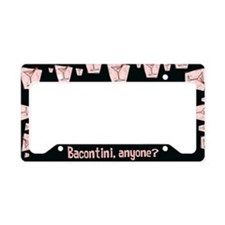 Bacontini Anyone ? License Plate Holder