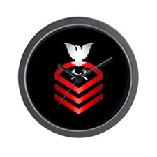 Navy Chief Damage Control Wall Clock