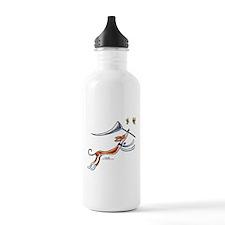 Ibzian Hound Butterflies Water Bottle