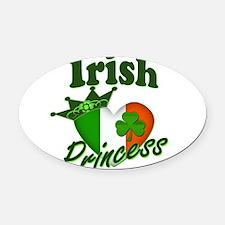 Irish Princess 995836352.png Oval Car Magnet