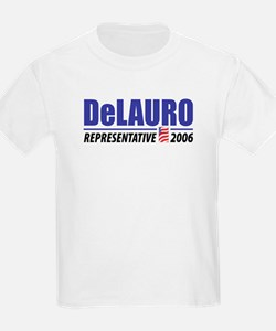 DeLauro 2006 Kids T-Shirt