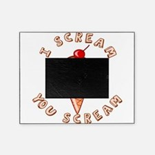 I SCREAM.png Picture Frame