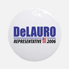 DeLauro 2006 Ornament (Round)