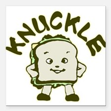 "knuckle.png Square Car Magnet 3"" x 3"""