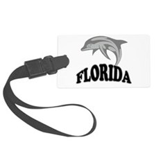Florida Dolphin.png Luggage Tag
