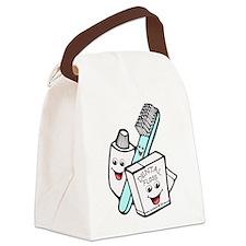 dental24.png Canvas Lunch Bag