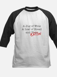 Bacon A Jug of Wine Tee