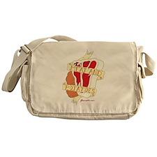 Meat and Potatoes Messenger Bag