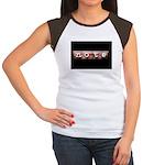 noteBlack.jpg Women's Cap Sleeve T-Shirt
