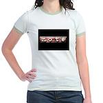 noteBlack.jpg Jr. Ringer T-Shirt