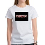 noteBlack.jpg Women's T-Shirt