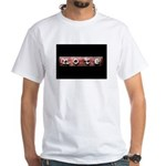 noteBlack.jpg White T-Shirt