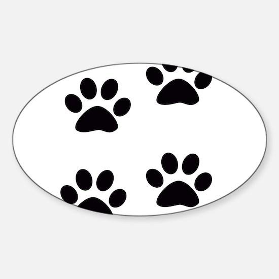 PAWPRINTS™ Sticker (Oval)