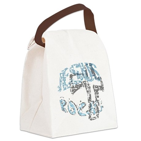 rocks3.png Canvas Lunch Bag