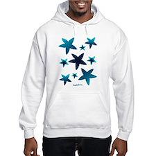 Aquamarine Starfish Hoodie