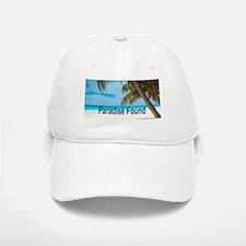 Paradise Found Baseball Baseball Cap
