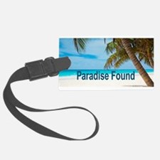 Paradise Found Luggage Tag