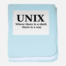 Unix - Where there is a shell, there is a way baby