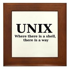 Unix - Where there is a shell, there is a way Fram