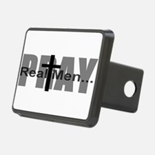 Real Men Pray Hitch Cover