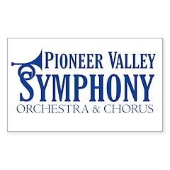 PVS Logo Sticker (Rectangle 10 pk)