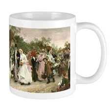 The Village Wedding by Luke Fildes Mug