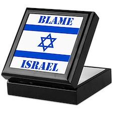 Cute Fuck israel Keepsake Box