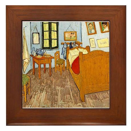 Bedroom at Arles Framed Tile