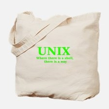 Unix - Where there is a Shell, there is a Way Tote