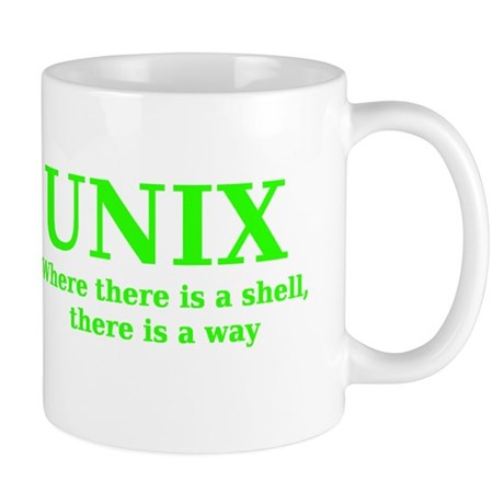 Unix - Where there is a Shell, there is a Way Mug