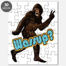 Bigfoot Sasquatch Yetti Wassup Puzzle